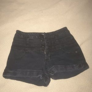 Black Mossimo high waisted shorts!